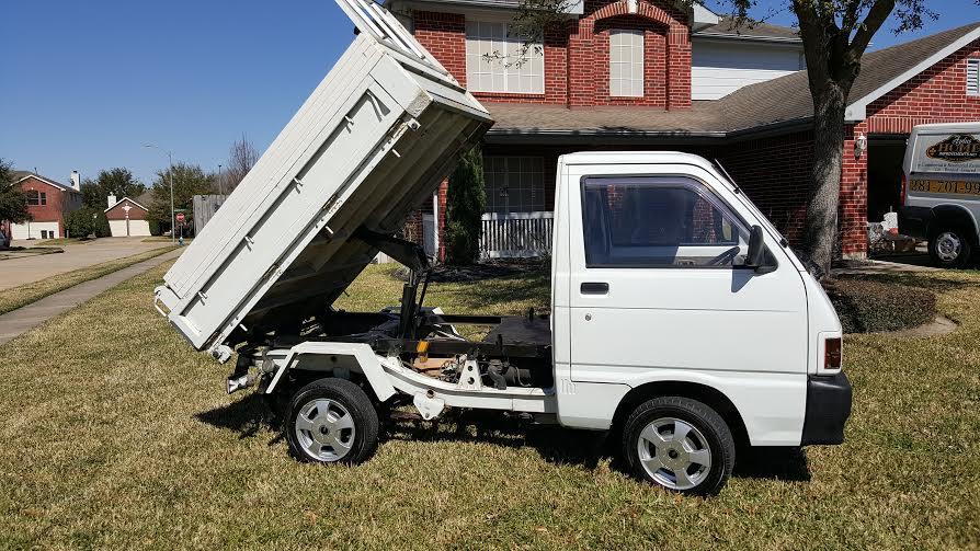 1991 Mitsubishi Dump Truck